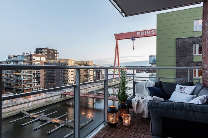 Bild: 3 rum bostadsrätt på Monsungatan 48, Göteborgs kommun Eriksberg