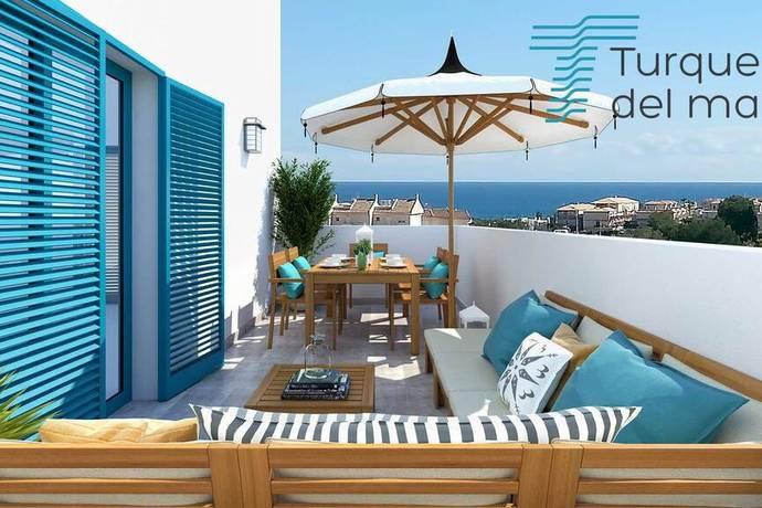 Bild: 3 rum bostadsrätt på Pool / Parkering / Nära hav, Spanien 3:a med Havsutsikt