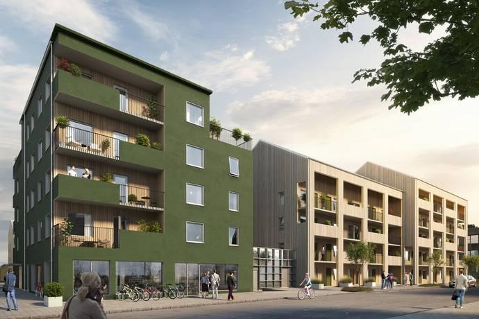 Bild: 3 rum bostadsrätt på Termikgatan, Örebro kommun Södra Ladugårdsängen
