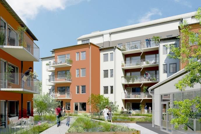 Bild: bostadsrätt på Porslinshusen Etapp 3, Värmdö kommun Gustavsberg