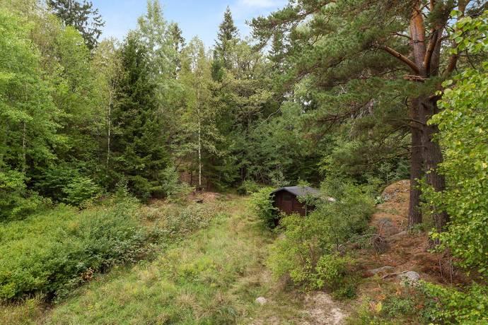 Bild: tomt på Vidablicksvägen 11, Huddinge kommun Vidja