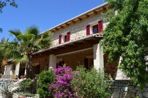 Bild: 4 rum villa på Mallorca - Charmig lantvilla med pool, Spanien Es Capdella - Sydväst