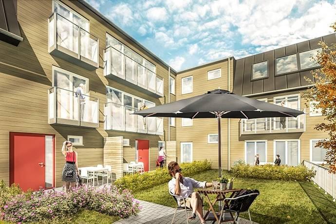 Bild: 5 rum bostadsrätt på Borgmästaregatan 33, 1301, Varbergs kommun Centrum