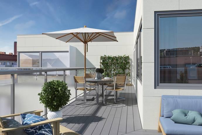 Bild: 4 rum bostadsrätt på Lagerbergsgatan, Uddevalla kommun Uddevalla Stad