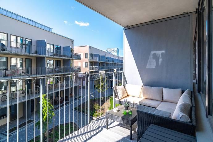 Bild: 2 rum bostadsrätt på Klädesvägen 40, Stockholms kommun Bromma Brommaplan