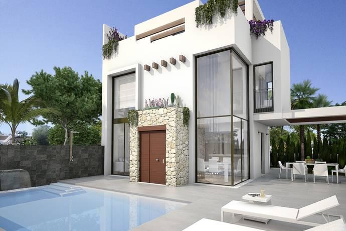 Bild: 4 rum villa på Villa i Rojales, Alicante, Spanien Ciudad Quesada