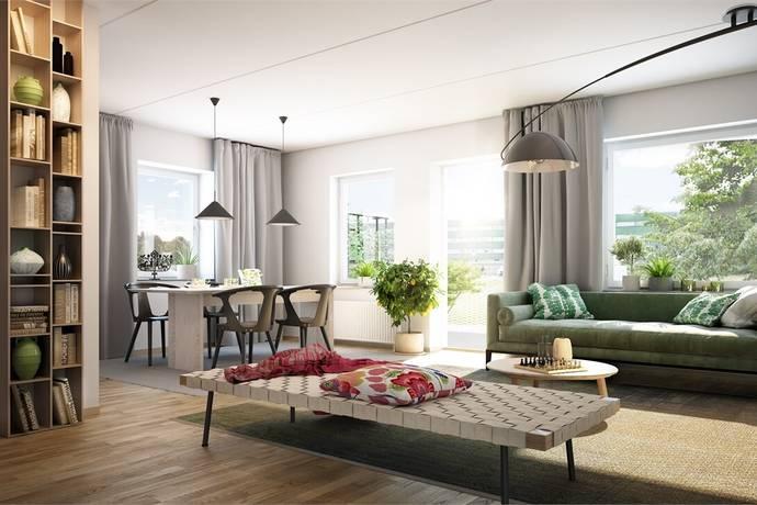 Bild: 3 rum bostadsrätt på Scheele Promenad, Lunds kommun Tuna