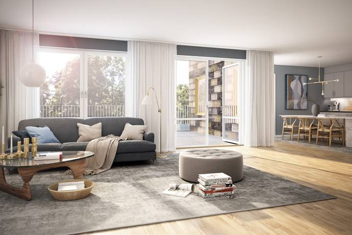 Bild: 4 rum bostadsrätt på Prismastigen 2, Lidingö kommun Dalénum