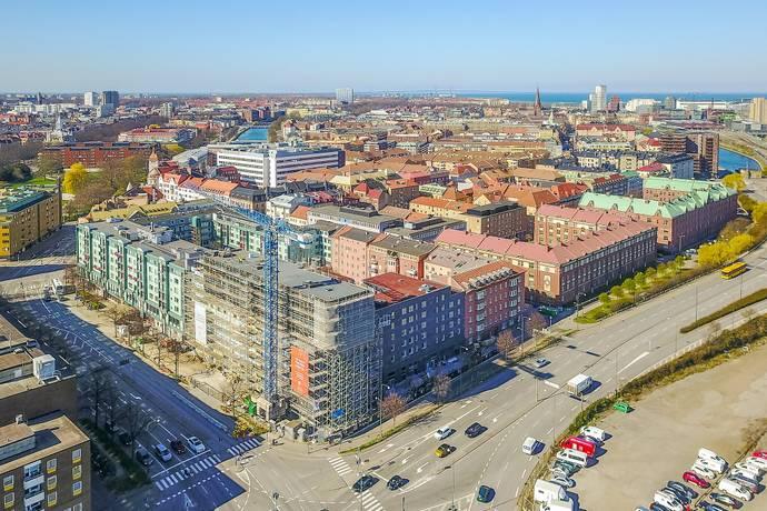 Bild: 1 rum bostadsrätt på Drottninggatan 1AA, Malmö kommun Slussen