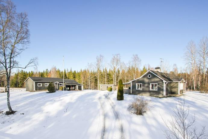 Bild: 5 rum villa på Stolpen Hermansborg, Hultsfreds kommun Lönneberga