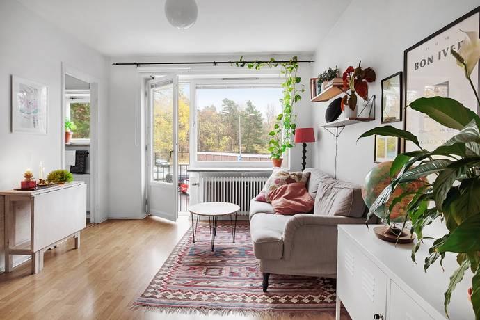 Bild: 1 rum bostadsrätt på Rusthållarvägen 187, Stockholms kommun Bagarmossen