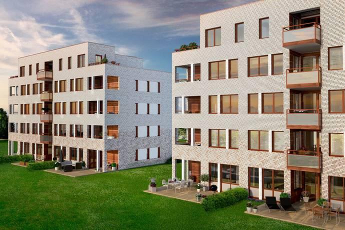 Bild: 3 rum bostadsrätt på Vildrosgatan 11, Helsingborgs kommun Vasatorps Trädgård