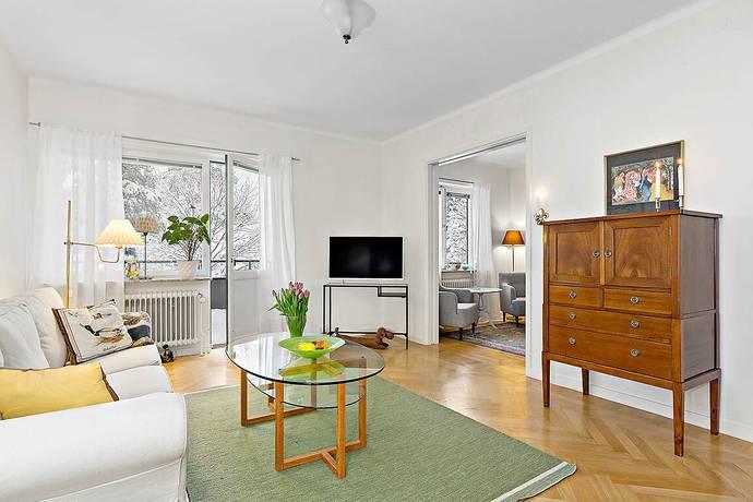 Bild: 4 rum bostadsrätt på Runda Vägen 30a, Stockholms kommun Äppelviken