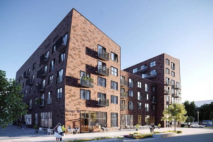 Bild: 3 rum bostadsrätt på Götaverksgatan 25, Göteborgs kommun Sannegårdshamnen, Lindholmen