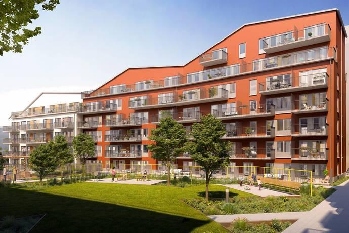 Bild: 3 rum bostadsrätt på Virkesvägen 7 C, Stockholms kommun Hammarby Sjöstad