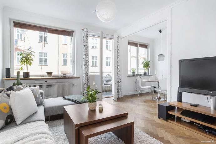 Bild: 1,5 rum bostadsrätt på Linnégatan 8, 1 tr, Stockholms kommun Östermalm