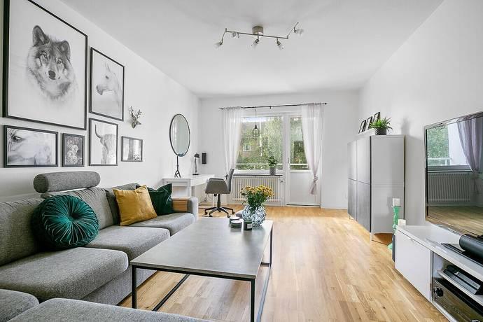 Bild: 2 rum bostadsrätt på Gethornskroken 10A, Hässleholms kommun Hässleholm - Väster