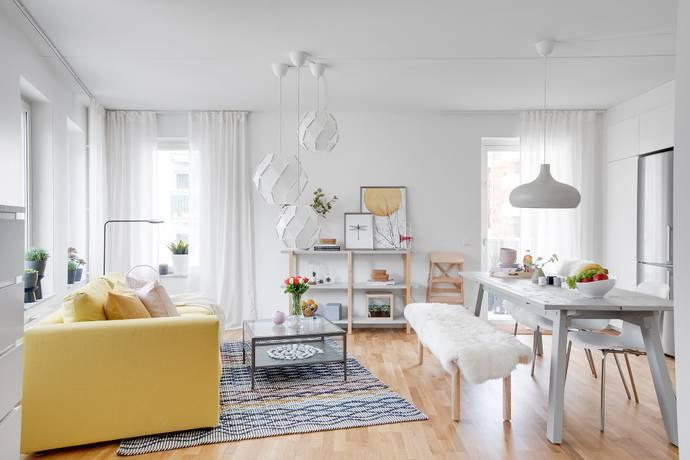 Bild: 4 rum bostadsrätt på Boplatsvägen 19, Sundbybergs kommun Järvastaden
