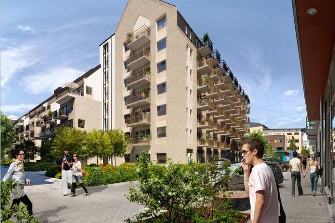 Bild: 1 rum bostadsrätt på Einar Hansens Esplanad/Märsgränd, Malmö kommun Västra Hamnen