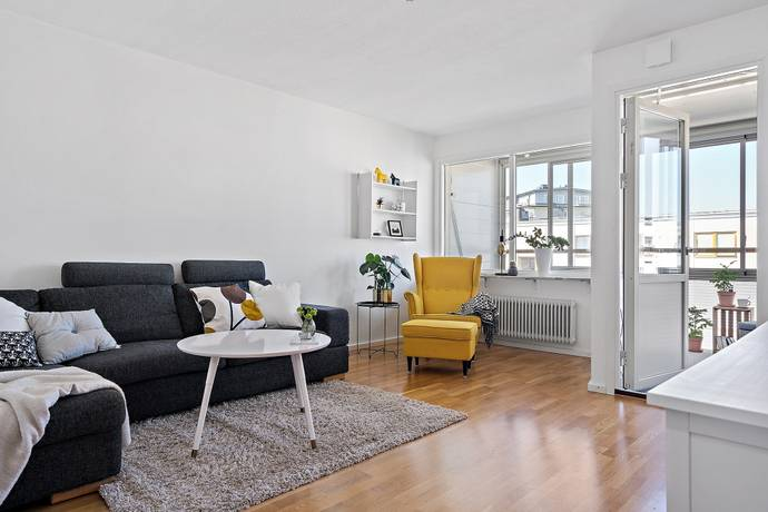 Bild: 2 rum bostadsrätt på Mångatan 4a, Alingsås kommun