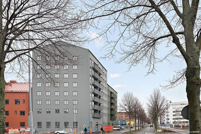 Bild: 1 rum bostadsrätt på Götaverksgatan 24, Göteborgs kommun Eriksberg