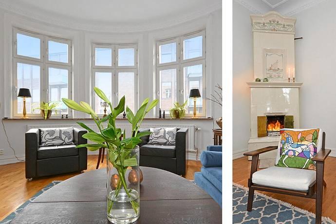 Bild: 4 rum bostadsrätt på Kullagatan 58, Helsingborgs kommun Centrum
