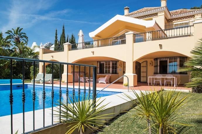 Bild: 7 rum radhus på Spektakulär frontline golf villa med havsutsikt! - La Quinta, Spanien Marbella - Benahavis