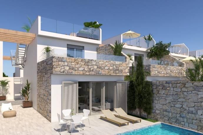 Bild: villa på Fristående villor 400 meter från stranden, Spanien Los Alcazares - Costa Calida