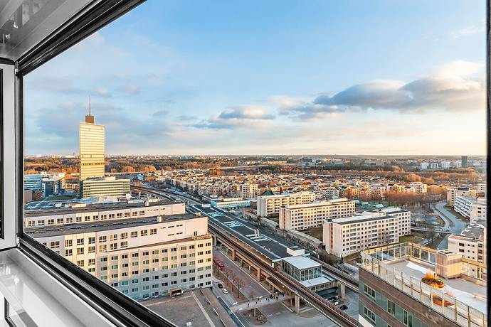 Bild: 2 rum bostadsrätt på Borgarfjordsgatan 21A, Våning 22, Stockholms kommun Kista