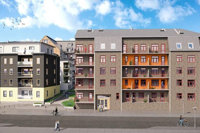 Bild: 2 rum bostadsrätt på Idun Lovéns gata 4, Linköpings kommun Vasastaden