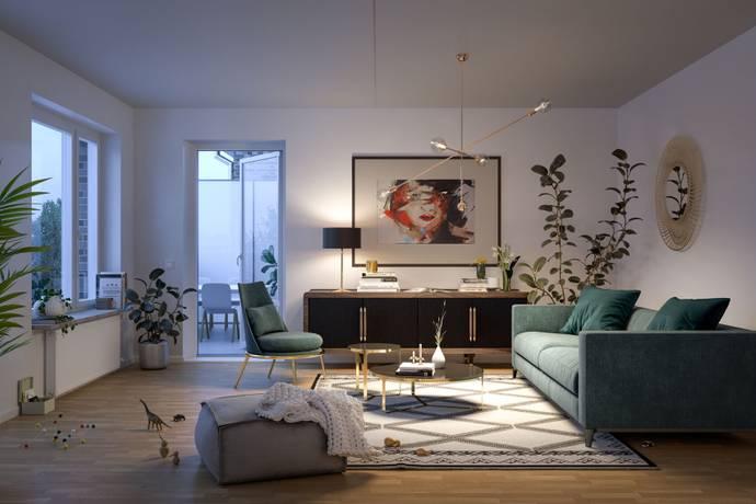 Bild: 3 rum bostadsrätt på Fyrklövergatan 4B, Upplands Väsby kommun Centralt Upplands Väsby