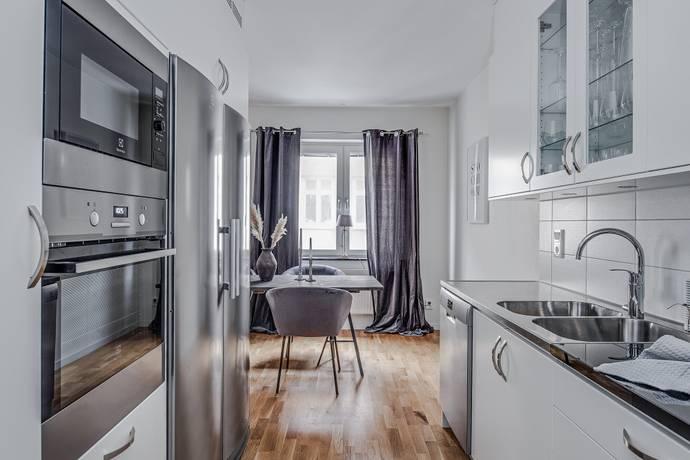 Bild: 3 rum bostadsrätt på Slottsgatan 88, Norrköpings kommun Centralt, resecentrum