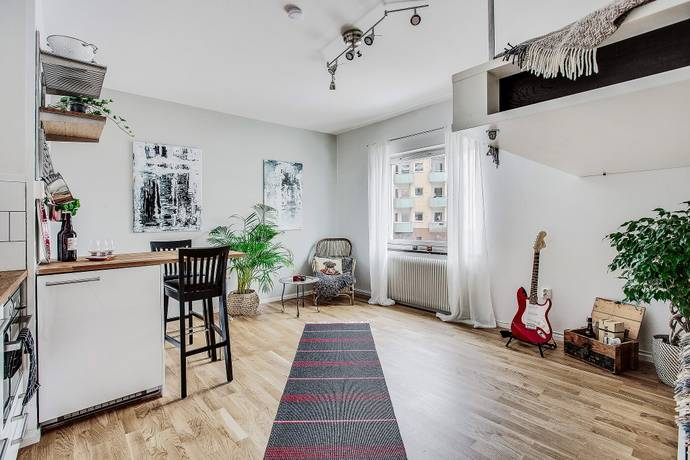 Bild: 1 rum bostadsrätt på Sickla Strand 86, Nacka kommun Sickla Strand
