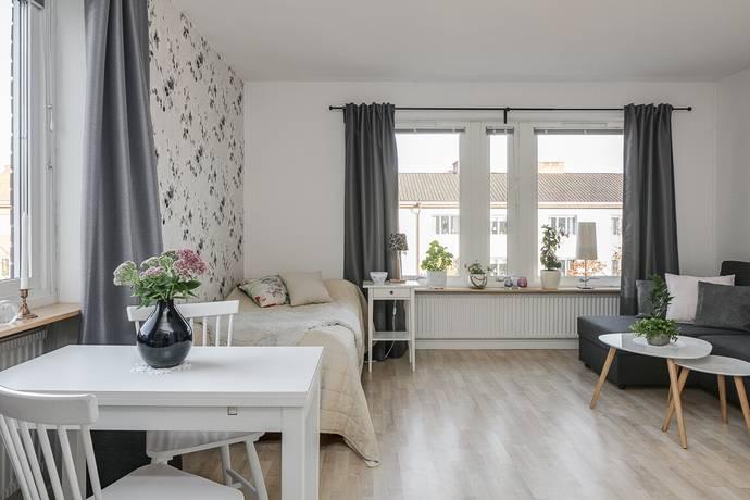Bild: 1 rum bostadsrätt på Tegnérgatan 6, Växjö kommun Söder