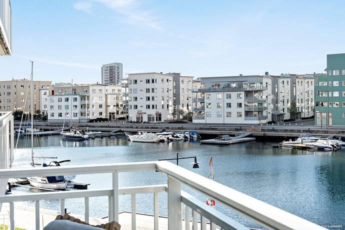 Bild: 3 rum bostadsrätt på Miraallén 1, Göteborgs kommun Eriksberg- Sannegården