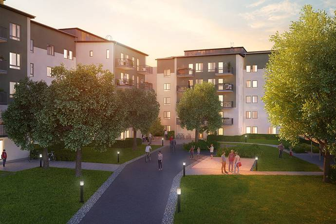 Bild: 4 rum bostadsrätt på Tegvägen 9, Järfälla kommun Viksjö