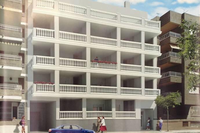 Bild: 3 rum bostadsrätt på Playa del Cura, Torrevieja, Spanien Alicante