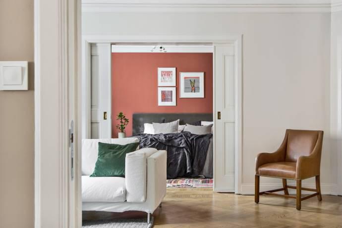 Bild: 3,5 rum bostadsrätt på Karlavägen 28, 4 tr, Stockholms kommun Östermalm