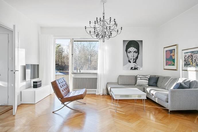 Bild: 3 rum bostadsrätt på Vasavägen 9, Lidingö kommun Hersby