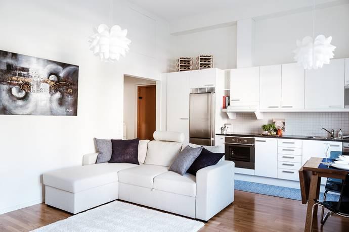 Bild: 2 rum bostadsrätt på Lundagatan 1C, Solna kommun Huvudsta/Västra Skogen