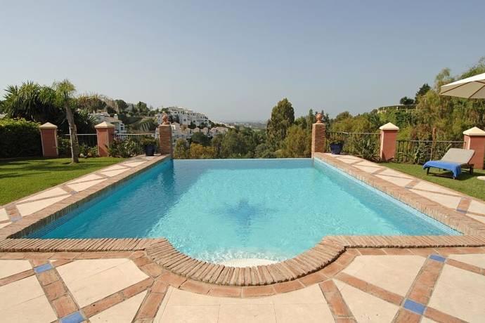 Bild: 7 rum villa på Magnifik villa i La Quinta, Spanien La Quinta | Benahavís