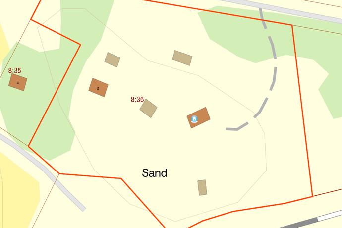 Bild: 84 m² tomt på Borg Sandtorp 2, Norrköpings kommun