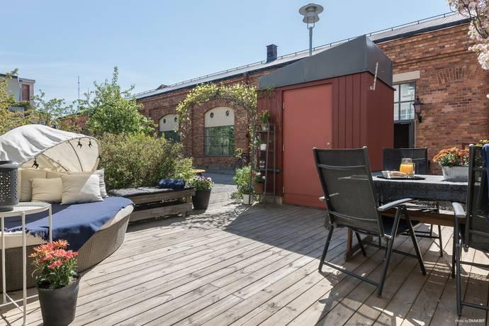 Bild: 6 rum radhus på Uppfinnargränd 8, Nacka kommun Järla Sjö