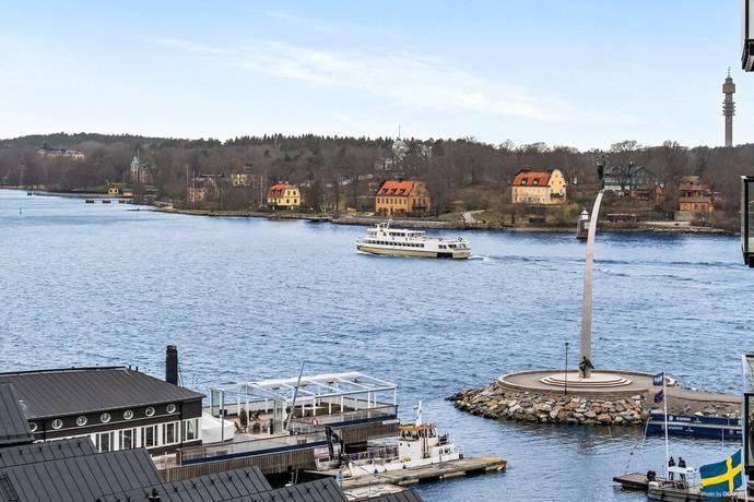 Bild: 3 rum bostadsrätt på Augustendalsvägen 23, vån 7, Nacka kommun Nacka strand
