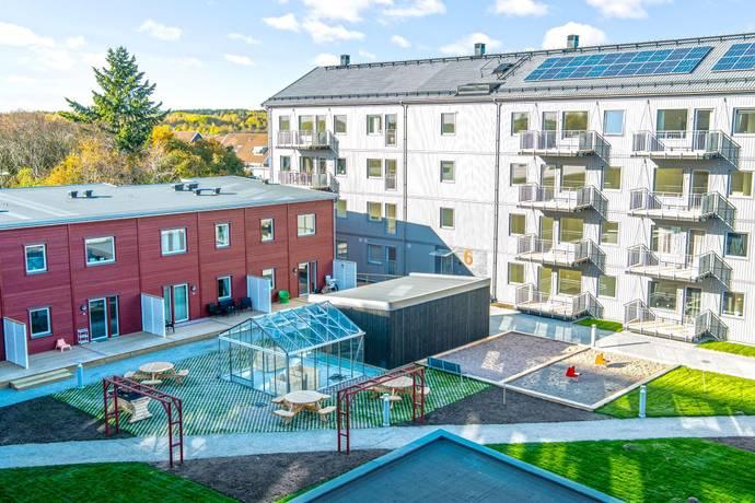 Bild från Bäckby Centrum - BoKlok Diamanten