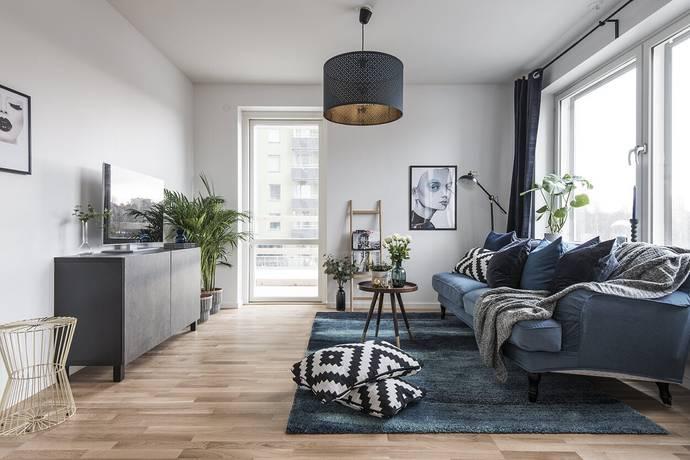 Bild: 2 rum bostadsrätt på Evenemangsgatan 34, vån 21, Solna kommun Arenastaden
