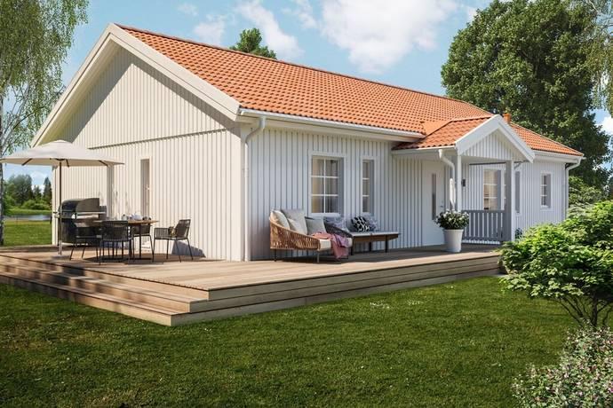 Bild: 3 rum villa på Gullregnsvägen 12, Götene kommun Lundsbrunn