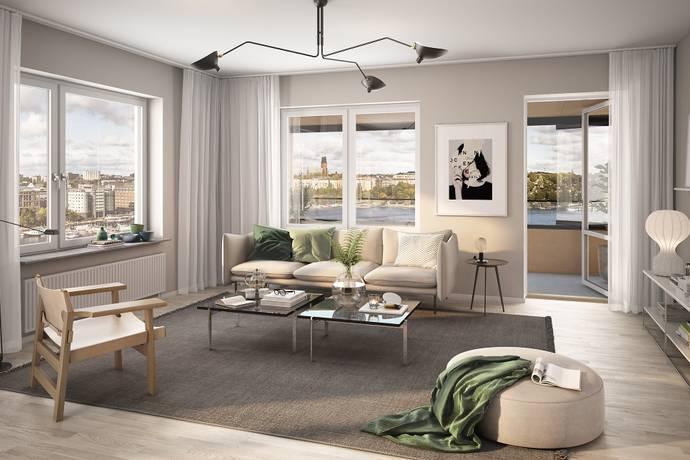 Bild: 3 rum bostadsrätt på Ekfatsgatan 1, Stockholms kommun