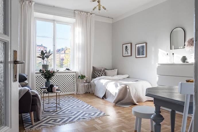 Bild: 1 rum bostadsrätt på Völundsgatan 1, Stockholms kommun Vasastan
