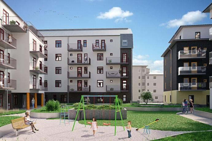 Bild: 3 rum bostadsrätt på Idun Lovéns Gata lght 1952, Linköpings kommun